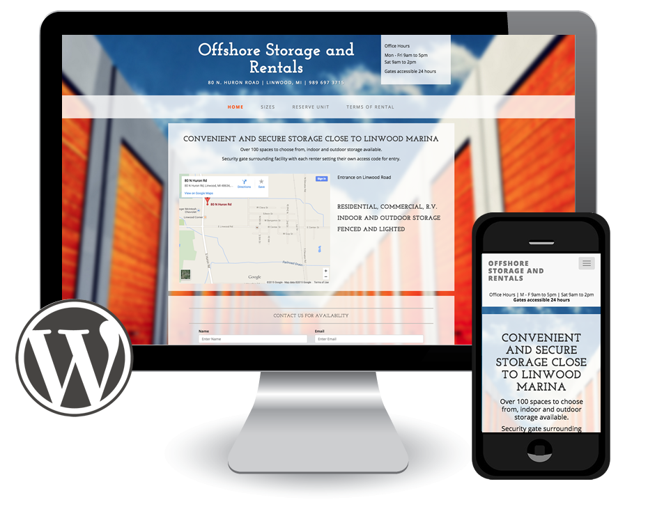 Offshore Storage in Wordpress