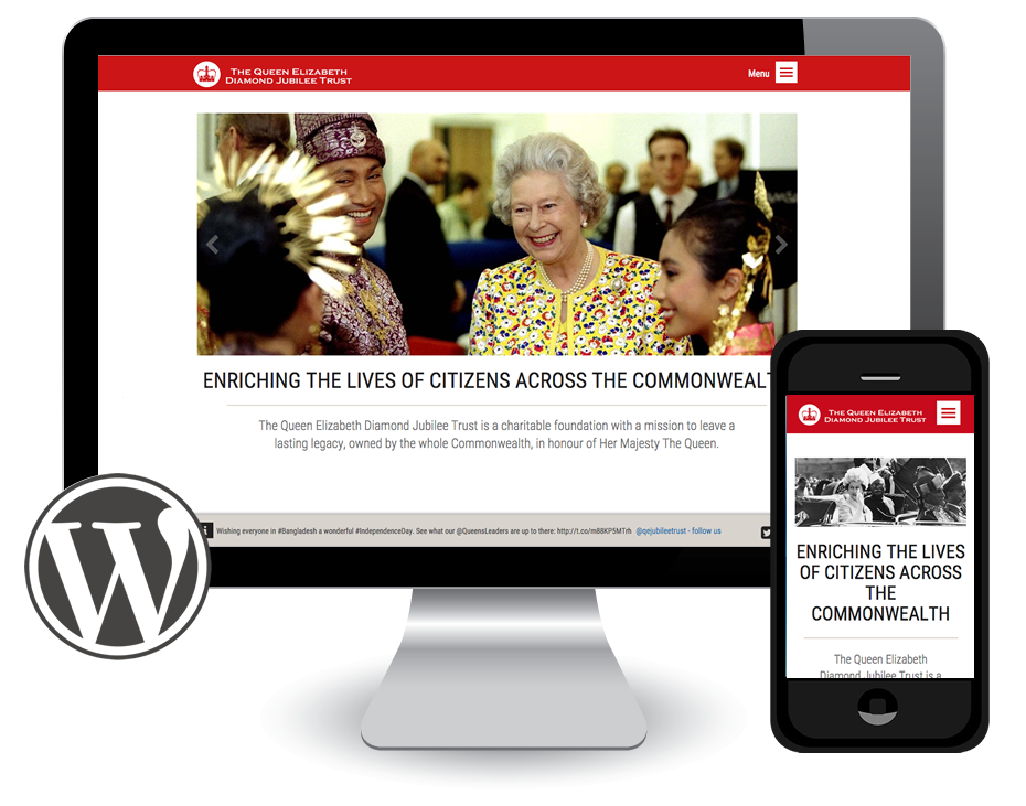 Queen's Jubilee Trust website